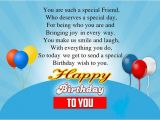 How to Send Happy Birthday Cards On Facebook Birthday Wishes for A Special Friend Sad Poetry