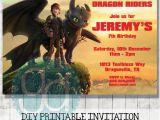 How to Train Your Dragon Birthday Invitations How to Train Your Dragon Birthday Printable Invitation Diy