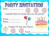 How to Write Invitation Card for Birthday Party Birthday Party Invitation Rooftop Post Printables