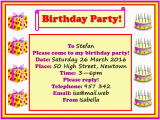 How to Write Invitation for Birthday Party Example Birthday Party Invitation Learnenglish Kids British