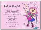How to Write Rsvp On Birthday Invitation Invite Wording Rsvp Rockstar Party Pinterest