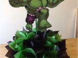 Hulk Birthday Decorations the Incredible Hulk Centerpiece Party by Cutecreationshop1