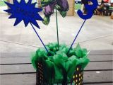 Hulk Birthday Decorations the Incredible Hulk Centerpieces Daisy Cuate Party