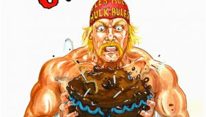 Hulk Hogan Birthday Card Hulkamania is Runnin Wild Glogg