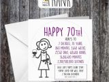 Humorous 70th Birthday Cards Funny Rude Alternative Sarcastic Birthday Card 70th