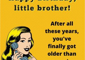 Humorous Birthday Cards for Brother Ain 39 T No Cake Big Enough Funny Birthday Wishes for Brothers