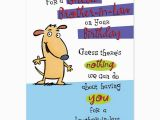Humorous Birthday Cards for Brother Happy Birthday Low Brother Quote