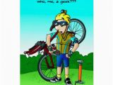 Humorous Cycling Birthday Cards Cycling Birthday Card who Me A Geek Zazzle