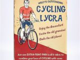 Humorous Cycling Birthday Cards Humour Birthday Card Cycling Lycra Card Factory