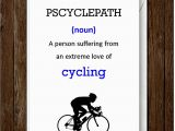 Humorous Cycling Birthday Cards Humour Funny Birthday Greeting Card Cycling Card Father