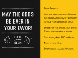 Hunger Games Birthday Invitations Hunger Games Birthday Party Invitations Cimvitation