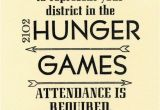 Hunger Games Birthday Invitations Items Similar to Hunger Games Party Invitations 10