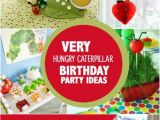 Hungry Caterpillar Birthday Decorations 29 Very Hungry Caterpillar Party Ideas Spaceships and