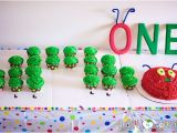 Hungry Caterpillar Birthday Decorations Free Printable Very Hungry Caterpillar 1st Invitation