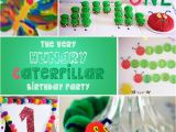 Hungry Caterpillar Birthday Decorations the Very Hungry Caterpillar Birthday Party