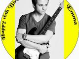 Hunter Hayes Birthday Card 7 5 Hunter Hayes Personalised Edible Icing or Wafer Paper