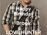 Hunter Hayes Birthday Card Happy Birthday Brook Love Hunter Hayes Keep Calm and