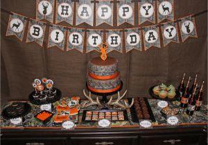 Hunting Birthday Decorations Camo Birthday Decorations Deer Hunting Birthday Camo Boy