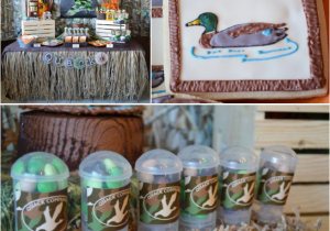 Hunting Birthday Decorations Kara 39 S Party Ideas Duck Dynasty Camoflauge Hunting Boy