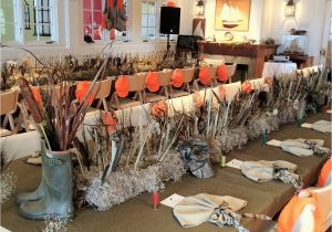 Hunting Birthday Decorations soiree Floral Duck Hunting Birthday Party