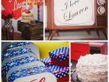 I Love Lucy Birthday Decorations Kara 39 S Party Ideas I Love Lucy Inspired Birthday Party Via