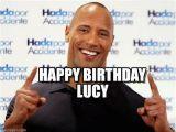 I Love Lucy Happy Birthday Meme Happy Birthday Lucy Dwayne Johnson Meme Su Memegen
