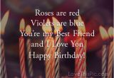 I Love You and Happy Birthday Quotes Happy Birthday I Love You Quote Pictures Photos and