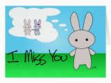 I Miss You Birthday Cards I Miss You Greeting Card Zazzle