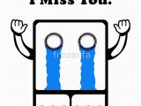 I Miss You Birthday Cards Quot I Miss You Quot Greeting Cards by Frozenfa Redbubble