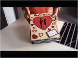 Ideal Romantic Birthday Gifts for Him Diy Cutest Birthday Scrapbook Ideas Handmade Love