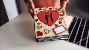 Ideal Romantic Birthday Gifts for Him Diy Cutest Birthday Scrapbook Ideas Handmade Love