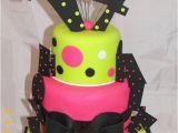 Ideas for 14th Birthday Girl Whimsical 14th Birthday Cake Kinda Retro Love the