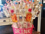 Ideas for 21st Birthday Gifts for Him 21st Alcohol Bouquet I Made for My Best Friend Diy