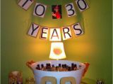 Ideas for 30th Birthday Gifts for Husband Homemade Quot Cheers to 30 Years Quot Banner for the Drink Table
