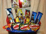 Ideas for 50th Birthday Present for Him Birthday Gift Basket for Him Gift Stuff Birthday
