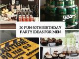 Ideas for 50th Birthday Present for Male 20 Fun 50th Birthday Party Ideas for Men Shelterness