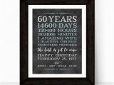 Ideas for 60th Birthday Present for Male 60th Birthday Gifts for Men Him Husband Adult Birthday