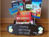 Ideas for 60th Birthday Present for Man Over the Hill Birthday Basket In 2019 40th Birthday