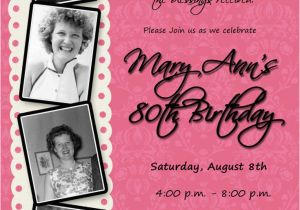 Ideas For 80th Birthday Invitations 25 Best About 90th On
