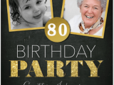 Ideas for 80th Birthday Invitations 80th Birthday Invitations 20 Awesome Invites for An