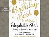 Ideas for 80th Birthday Invitations Best 25 80th Birthday Invitations Ideas On Pinterest