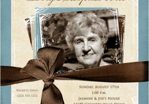 Ideas For 80th Birthday Invitations Party Mom