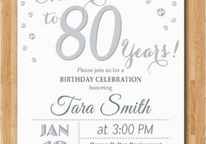 Ideas For 80th Birthday Invitations Ideas For 80th Birthday Party