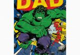 Incredible Hulk Birthday Card Incredible Dad Retro Hulk Birthday Card 345097 0 1