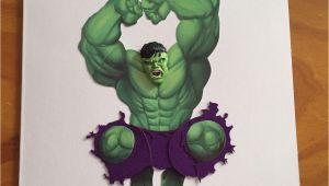 Incredible Hulk Birthday Card Incredible Hulk Birthday Card