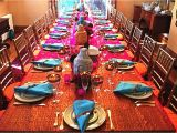 Indian Birthday Party Decorations Indian Dinner Table Decoration Bollywood Party theme In