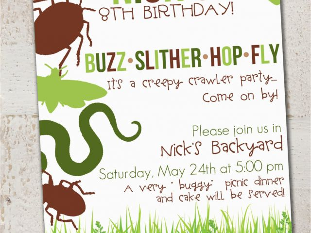 Download By SizeHandphone Tablet Desktop Original Size Back To Insect Birthday Party Invitations