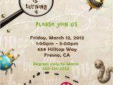 Insect Birthday Party Invitations Custom Listing for Burkleysmommy for Bug Birthday