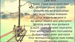 Inspirational Happy Birthday Quotes for Boss Birthday Poems for Boss Page 2 Wishesmessages Com
