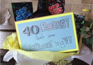 Interesting Birthday Ideas for Him 40th Birthday Gift Idea Creative Gift Ideas Pinterest
